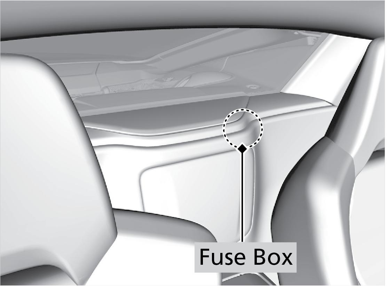 Interior Fuse Box   Acura Nsx Fuse Box Location      techinfo.honda.com